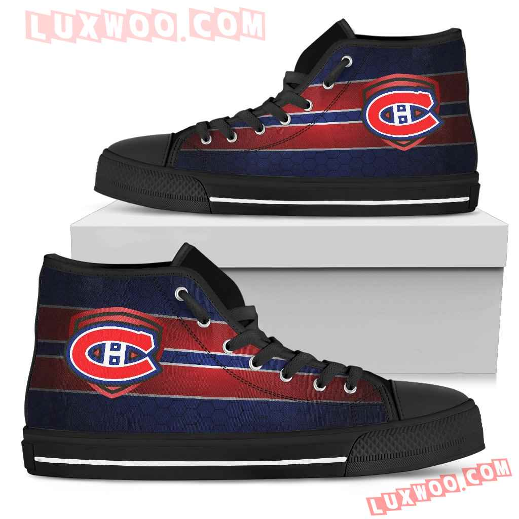 The Shield Montreal Canadiens High Top Shoes