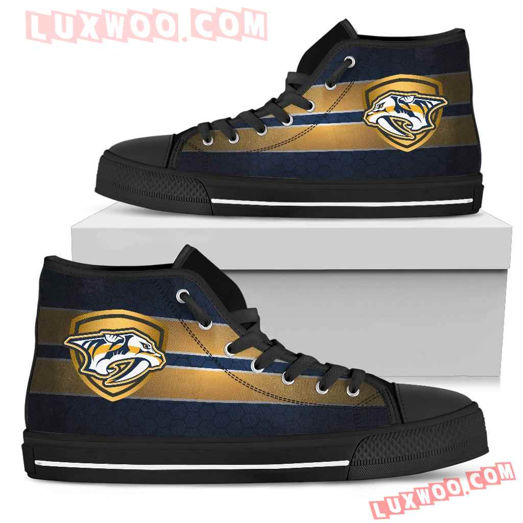The Shield Nashville Predators High Top Shoes