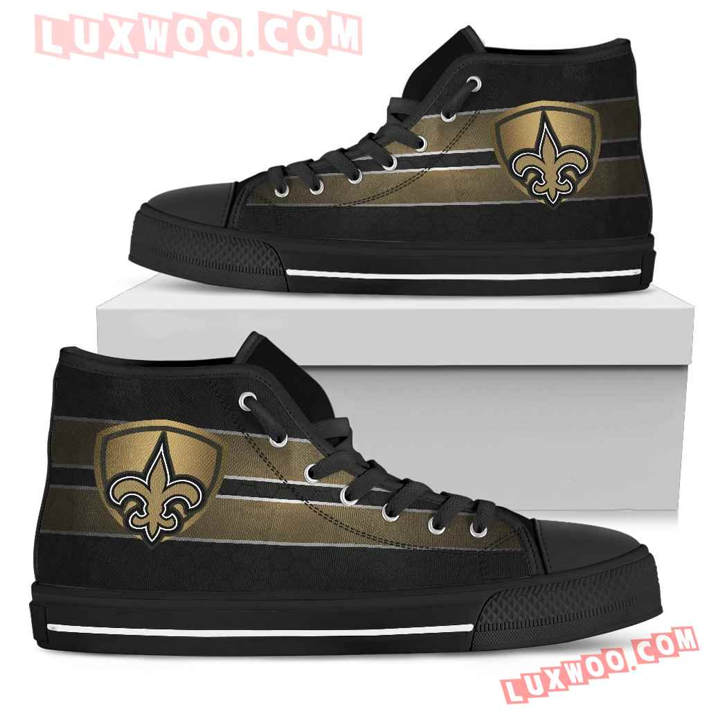 The Shield New Orleans Saints High Top Shoes