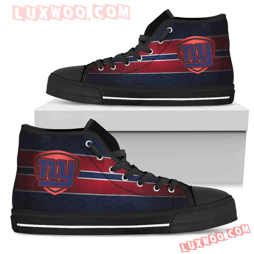 The Shield New York Giants High Top Shoes