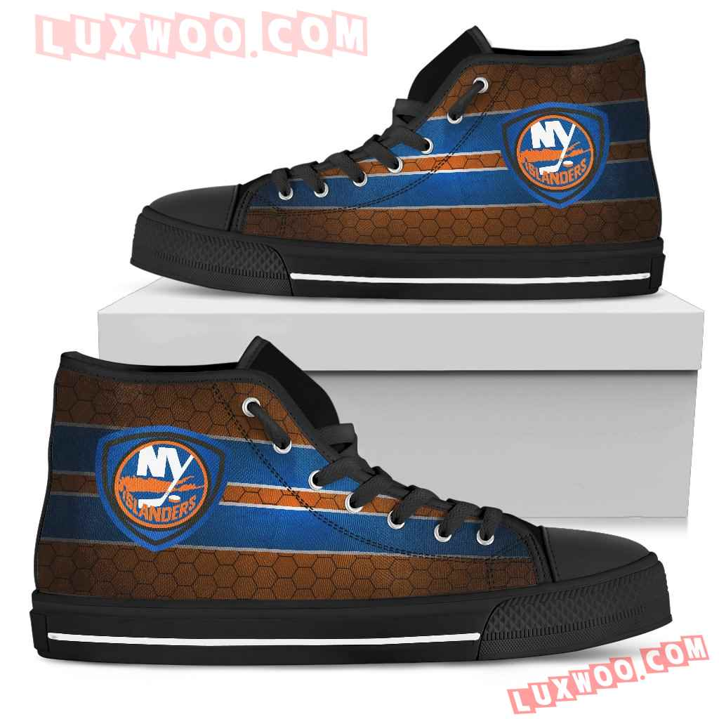 The Shield New York Islanders High Top Shoes