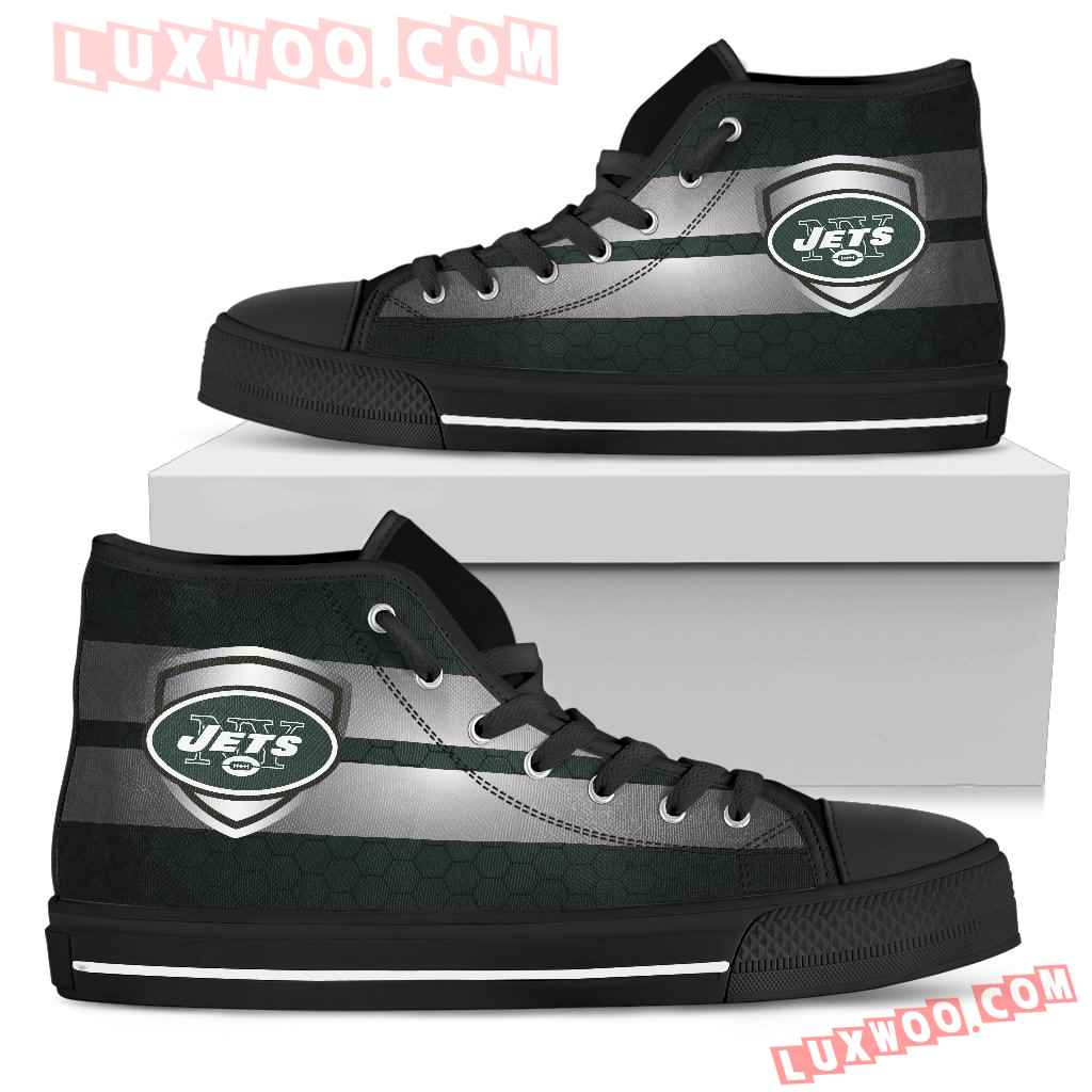 The Shield New York Jets High Top Shoes