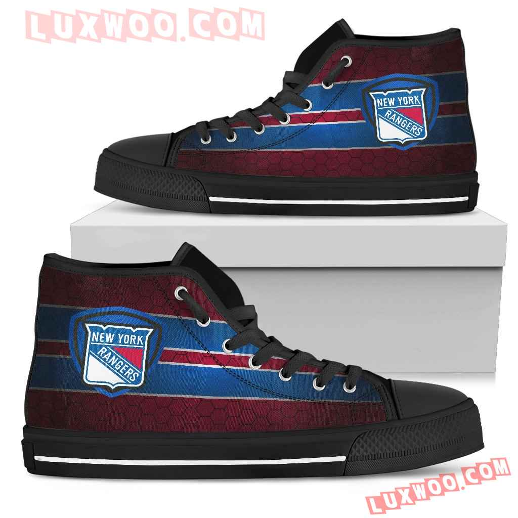 The Shield New York Rangers High Top Shoes