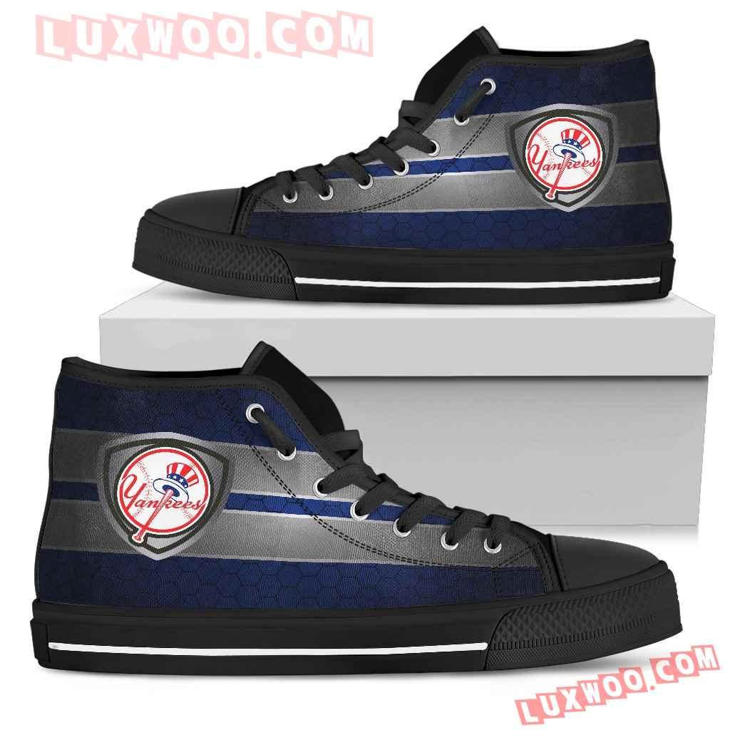 The Shield New York Yankees High Top Shoes