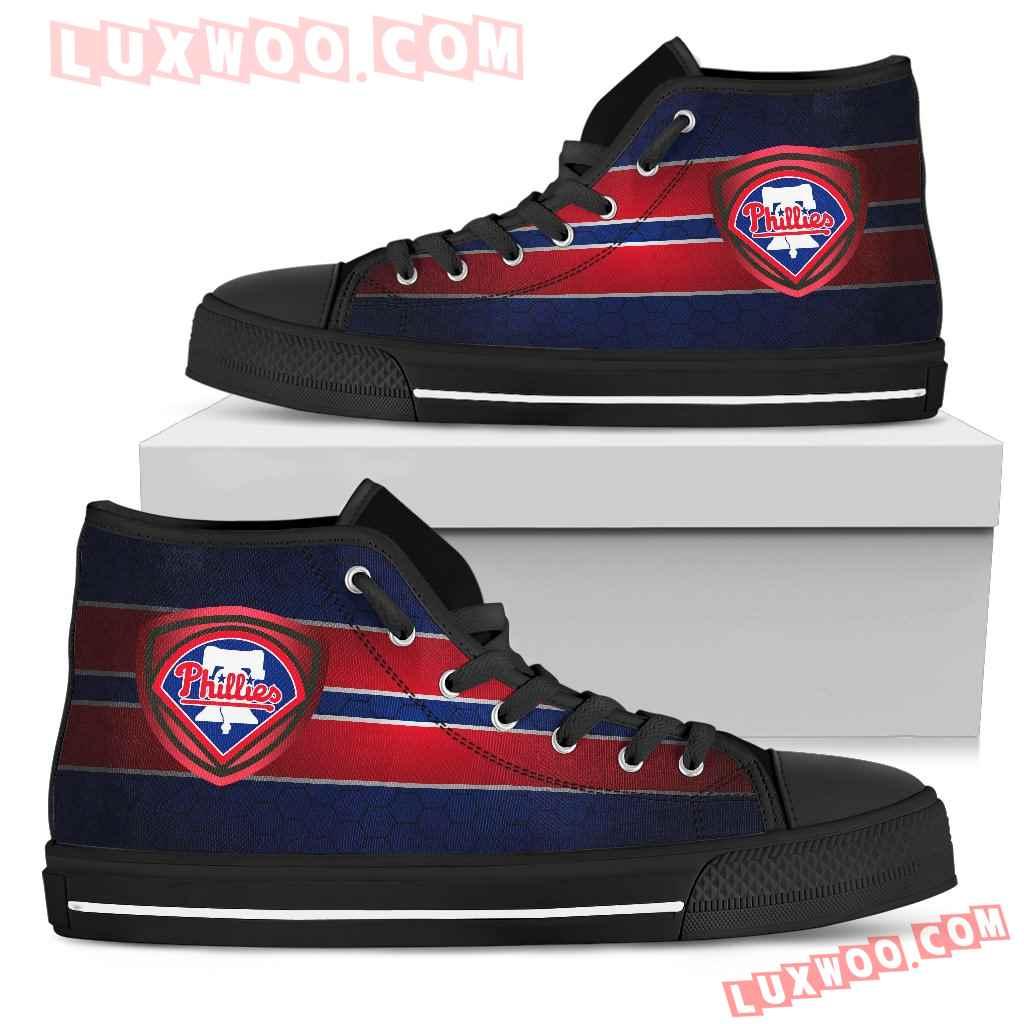 The Shield Philadelphia Phillies High Top Shoes