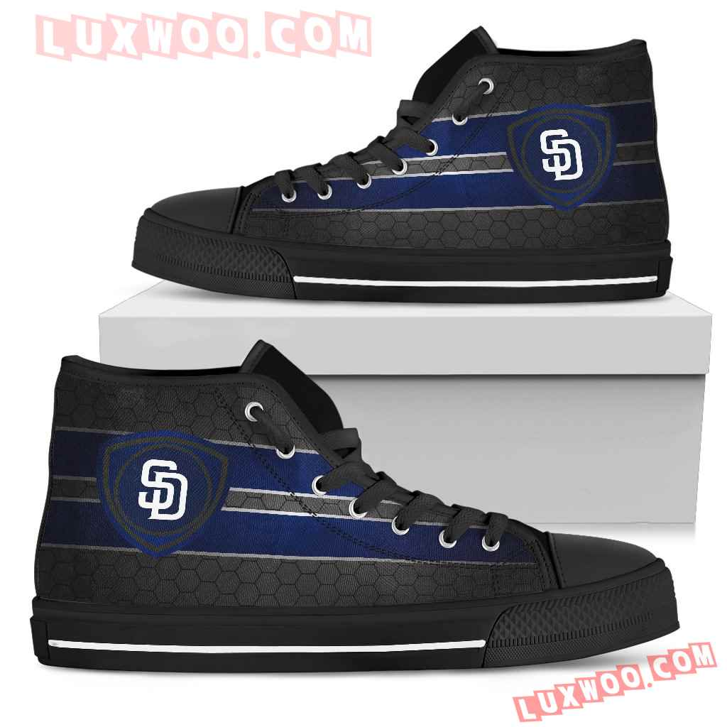 The Shield San Diego Padres High Top Shoes