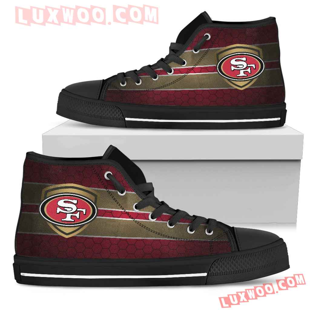 The Shield San Francisco 49ers High Top Shoes