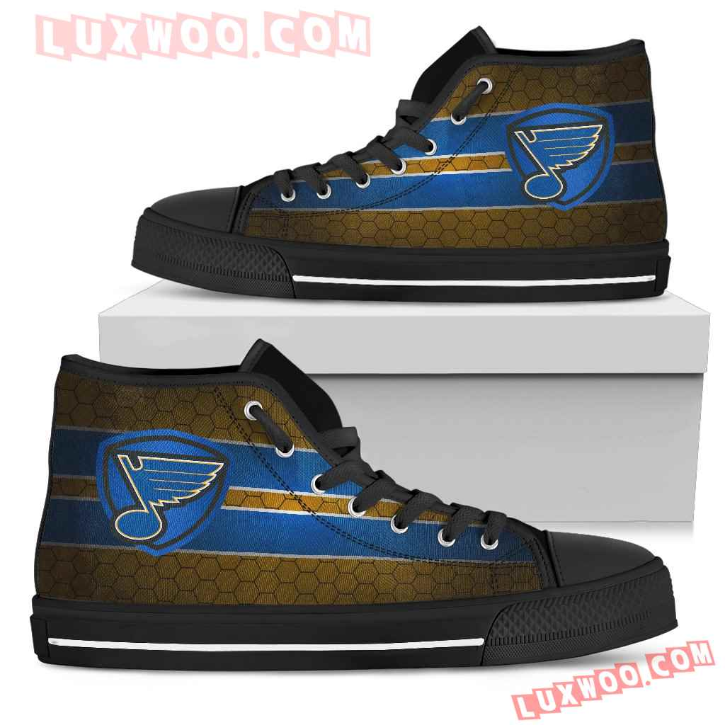 The Shield St Louis Blues High Top Shoes