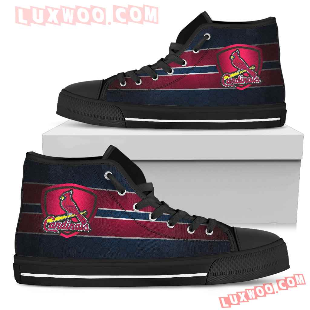 The Shield St Louis Cardinals High Top Shoes