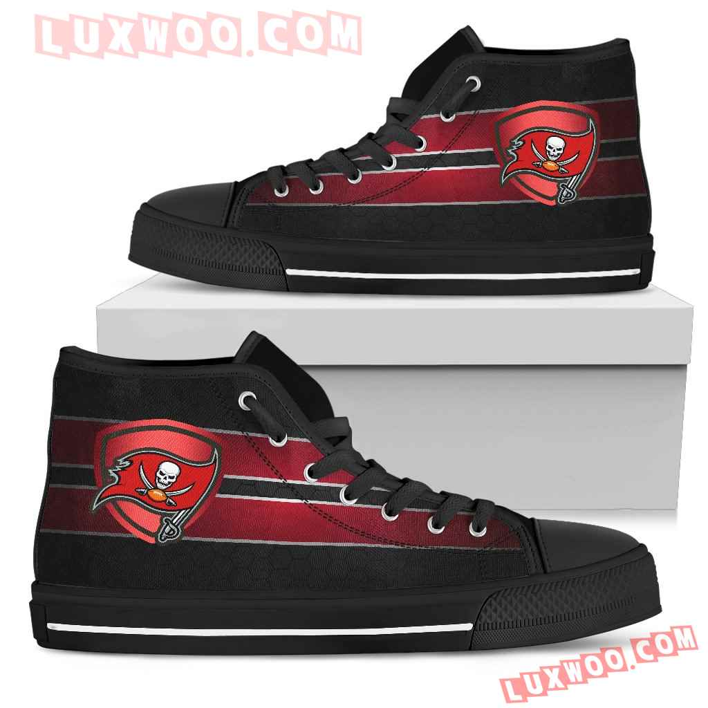 The Shield Tampa Bay Buccaneers High Top Shoes