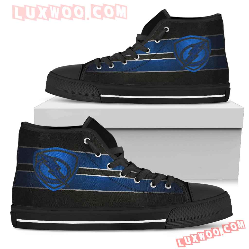 The Shield Tampa Bay Lightning High Top Shoes