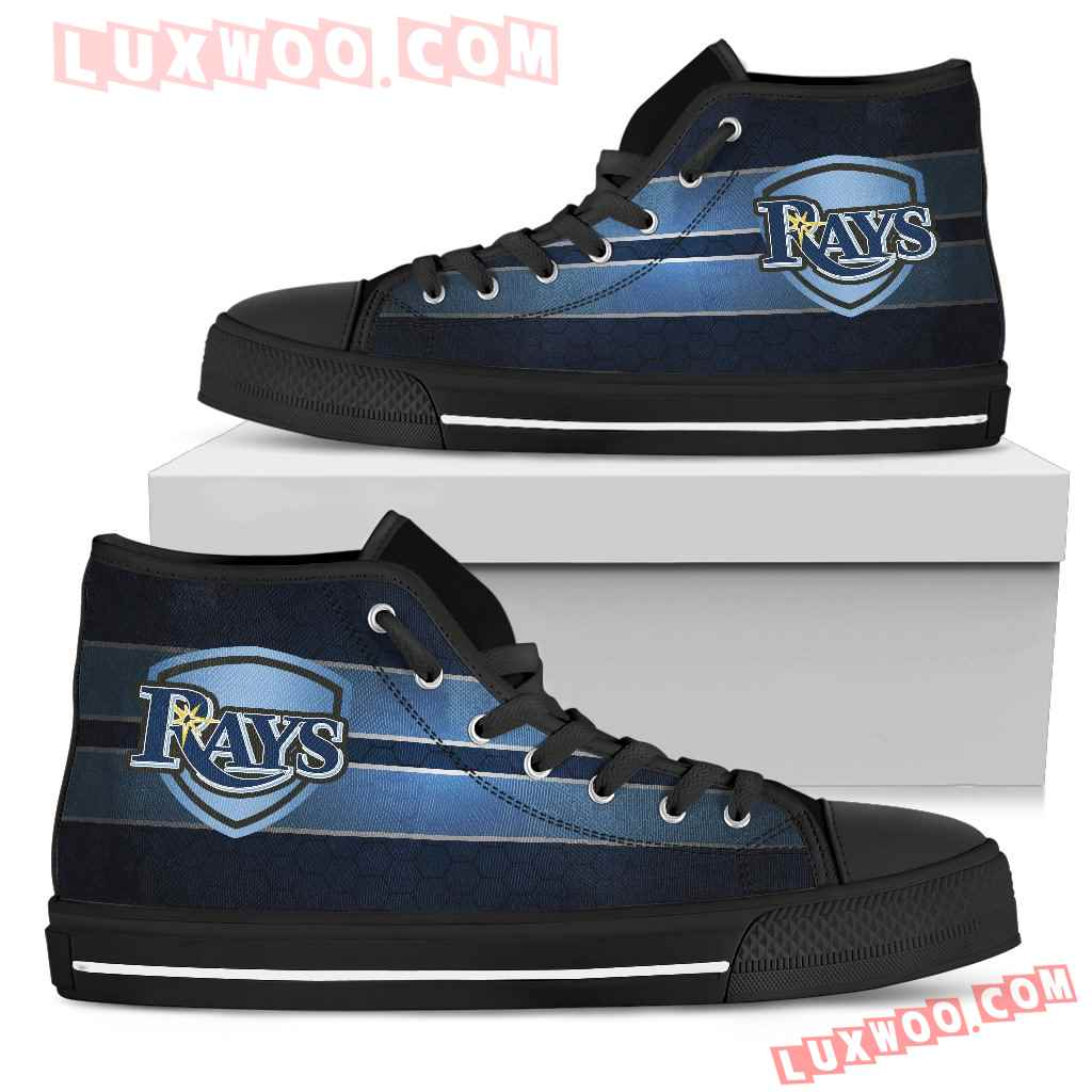 The Shield Tampa Bay Rays High Top Shoes