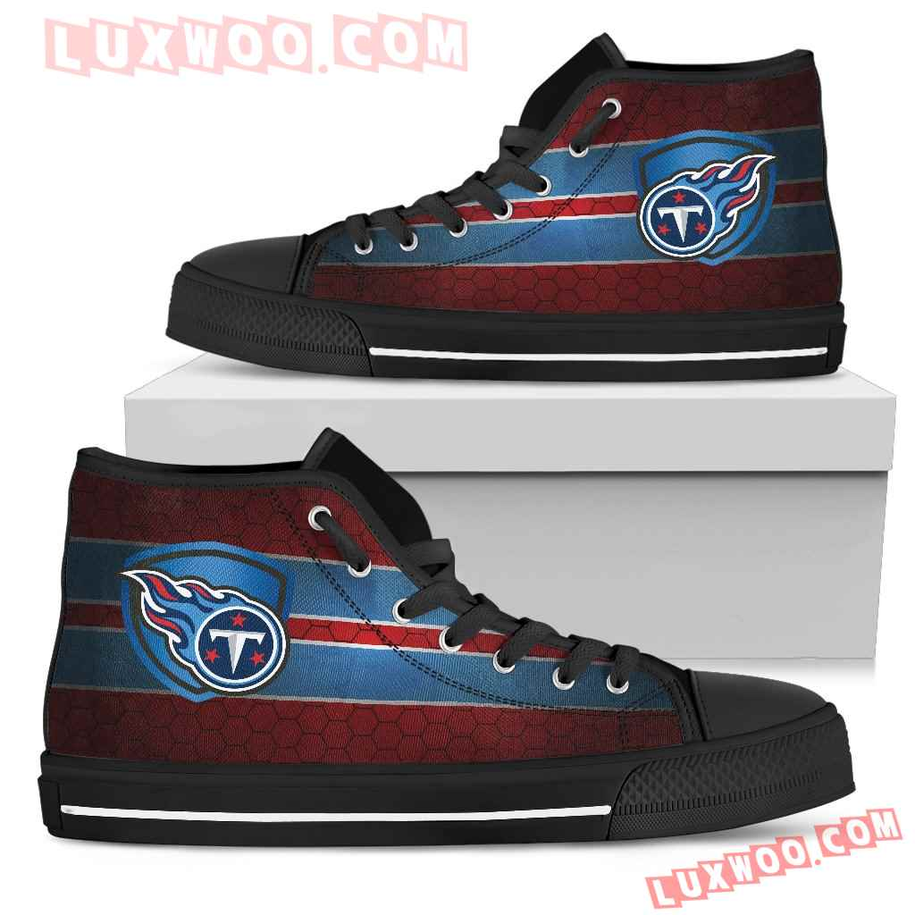 The Shield Tennessee Titans High Top Shoes