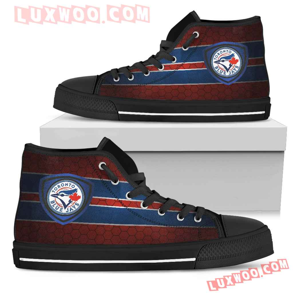 The Shield Toronto Blue Jays High Top Shoes