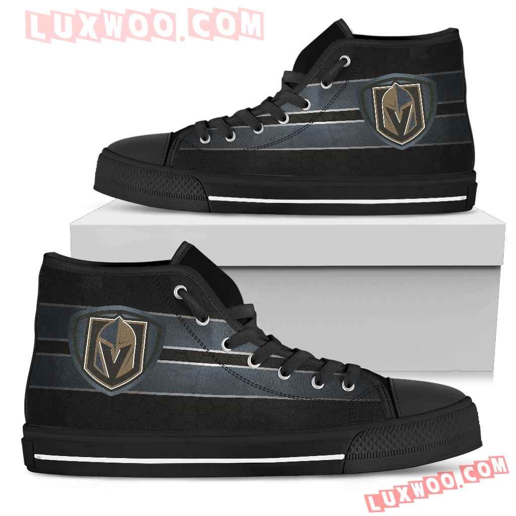 The Shield Vegas Golden Knights High Top Shoes