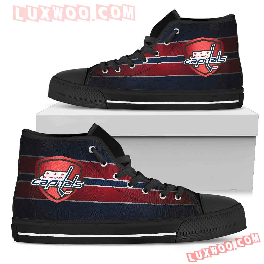 The Shield Washington Capitals High Top Shoes