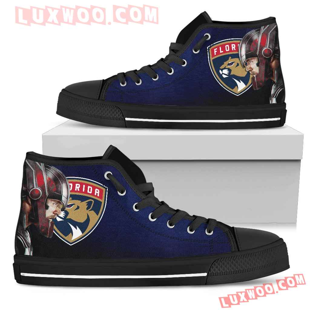 Thor Head Beside Florida Panthers Top Shoes