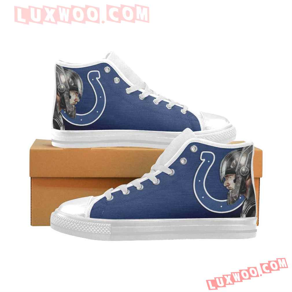 Thor Head Indianapolis Colts High Top Shoes