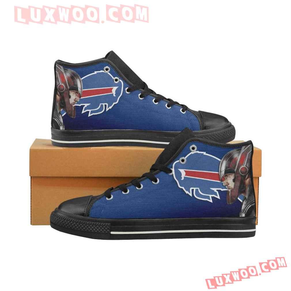Thor Head Logo Buffalo Bills High Top Shoes