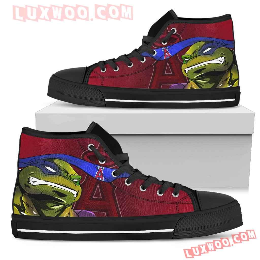 Turtle Los Angeles Angels Ninja High Top Shoes