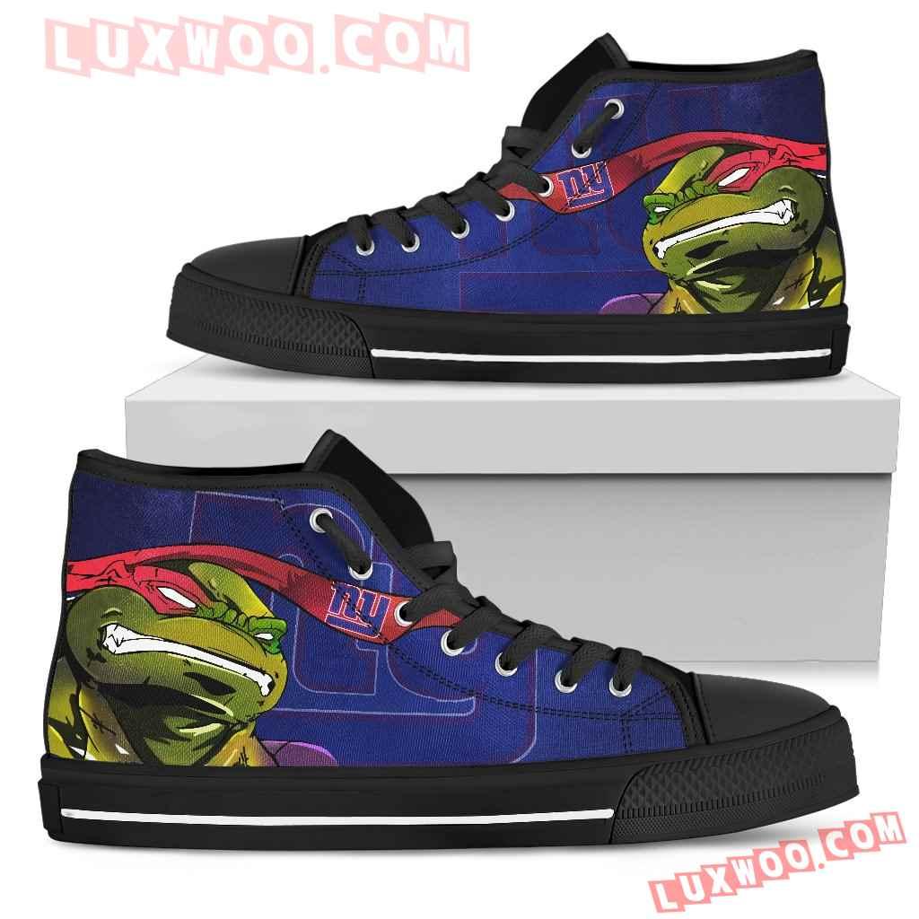 Turtle New York Giants Ninja High Top Shoes