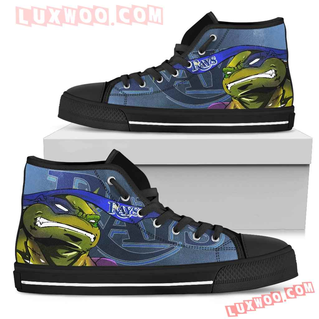 Turtle Tampa Bay Rays Ninja High Top Shoes