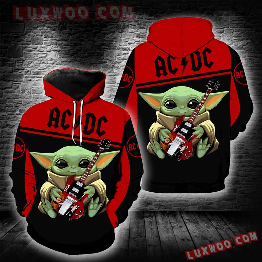 Acdc Baby Yoda New Full All Over Print K1393