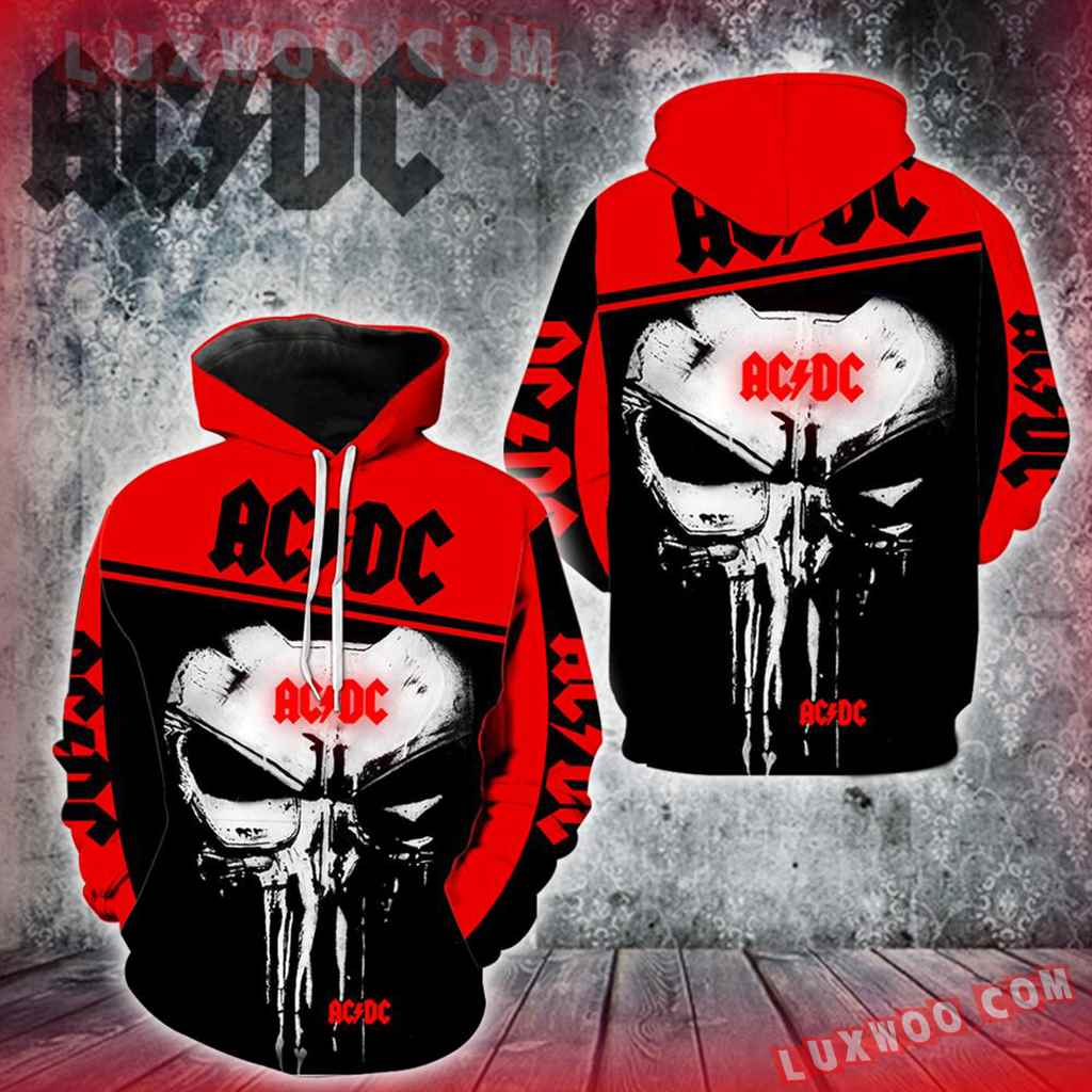 Acdc Punisher Skull Full All Over Print V1424