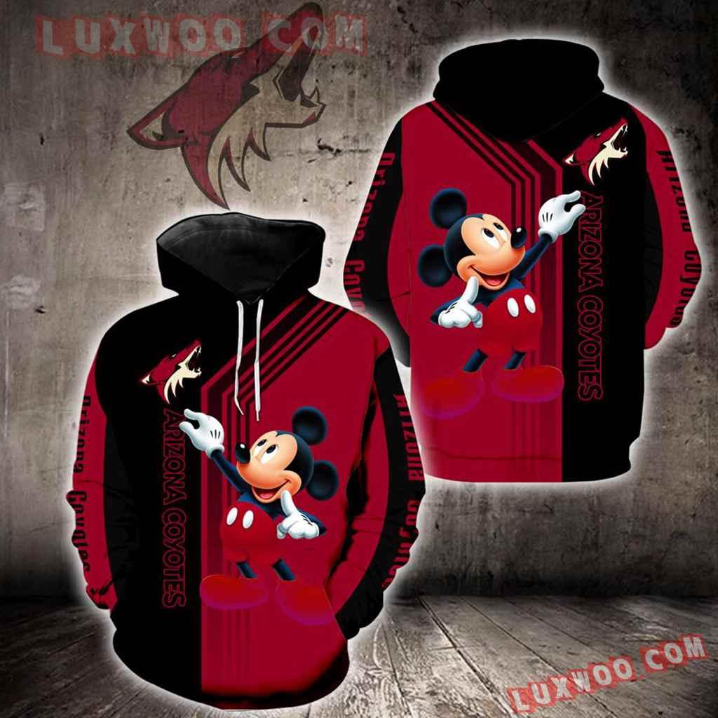 Arizona Coyotes Mickey Mouse New Full All Over Print V1522