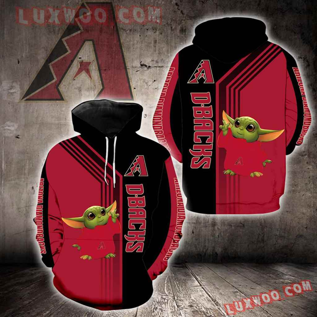 Arizona Diamondbacks Baby Yoda Green New Full All Over Print K1306