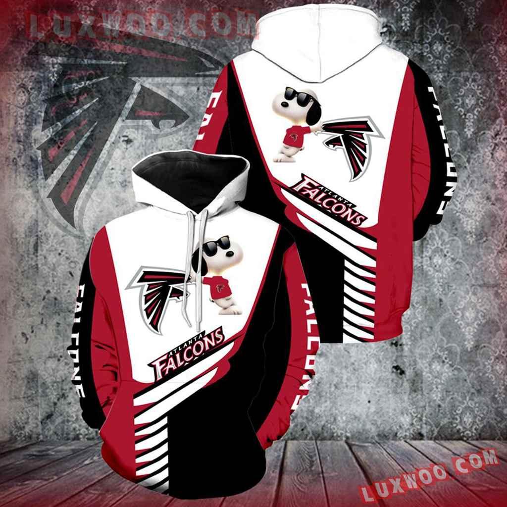Atlanta Falcons Snoopy New Full Over Print V1338