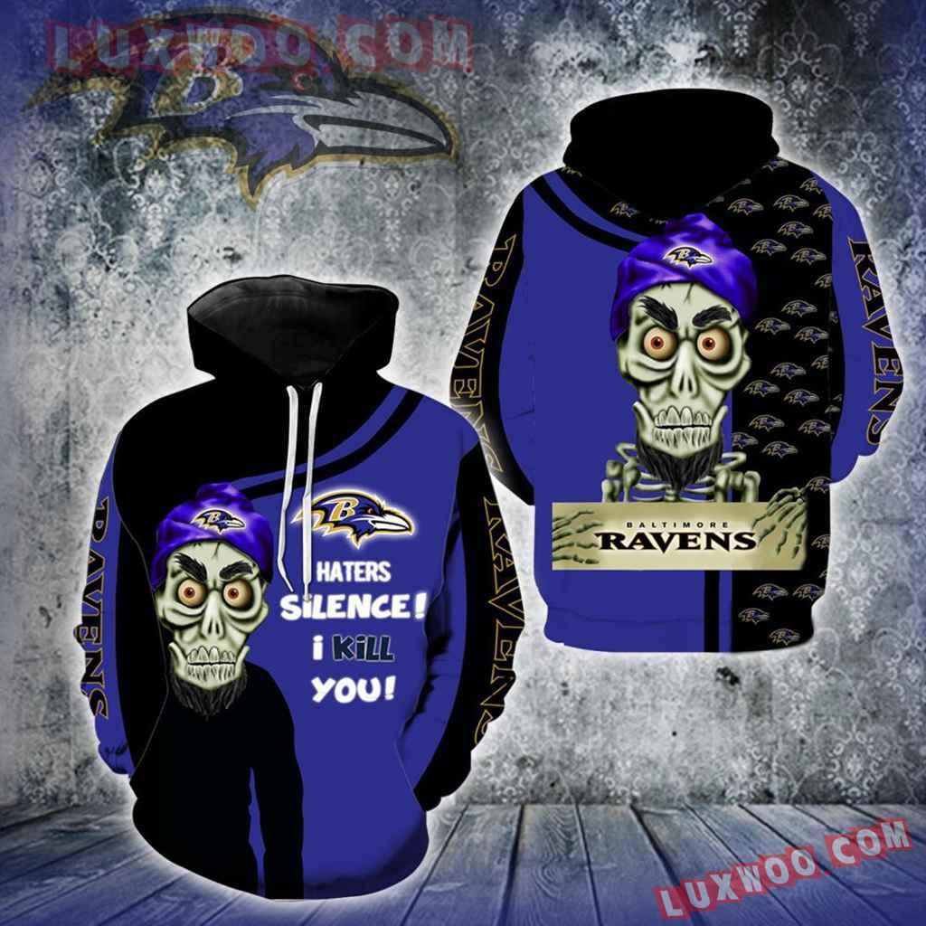 Baltimore Ravens Achmed Skull Full All Over Print V1415