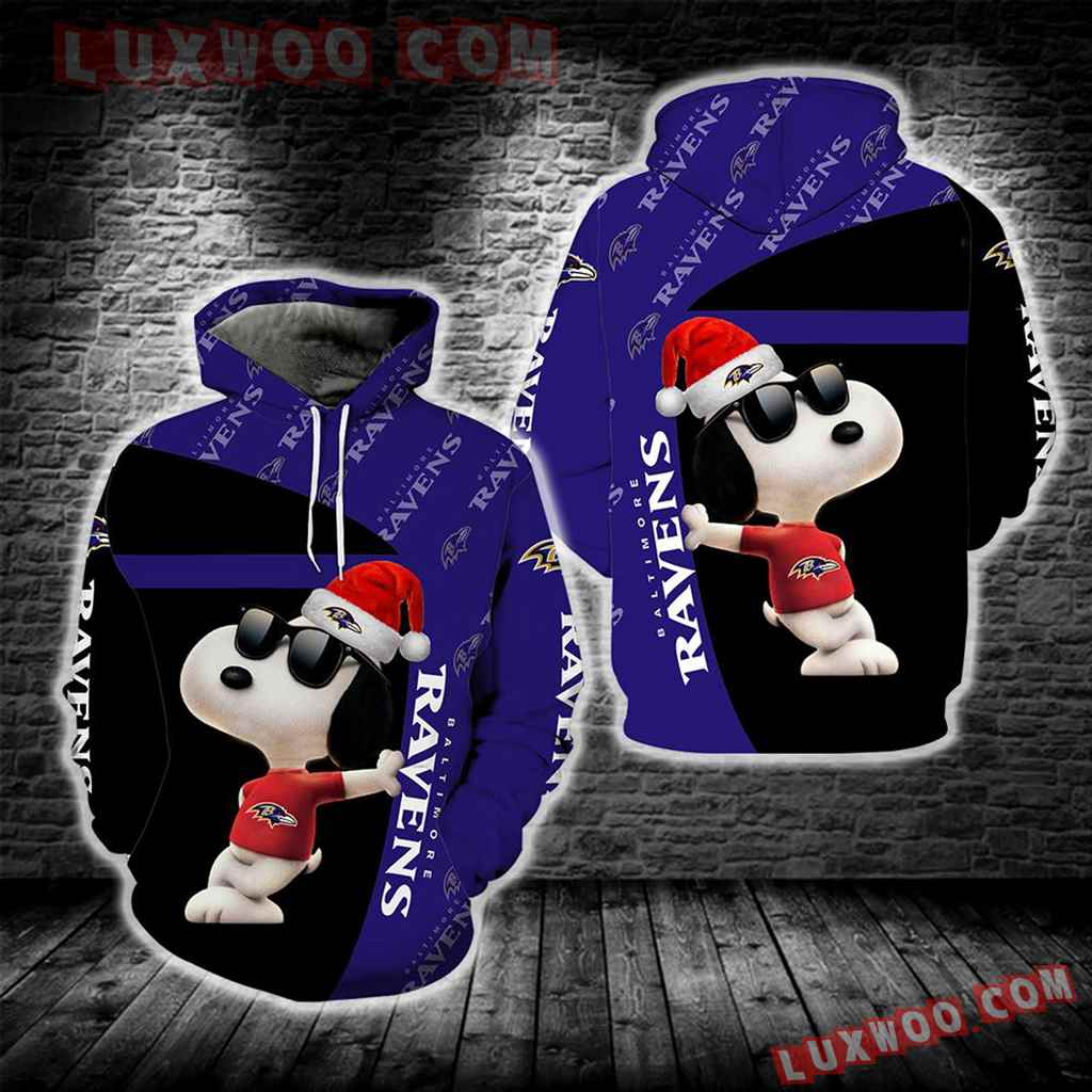 Baltimore Ravens Snoopy New Full All Over Print S1671