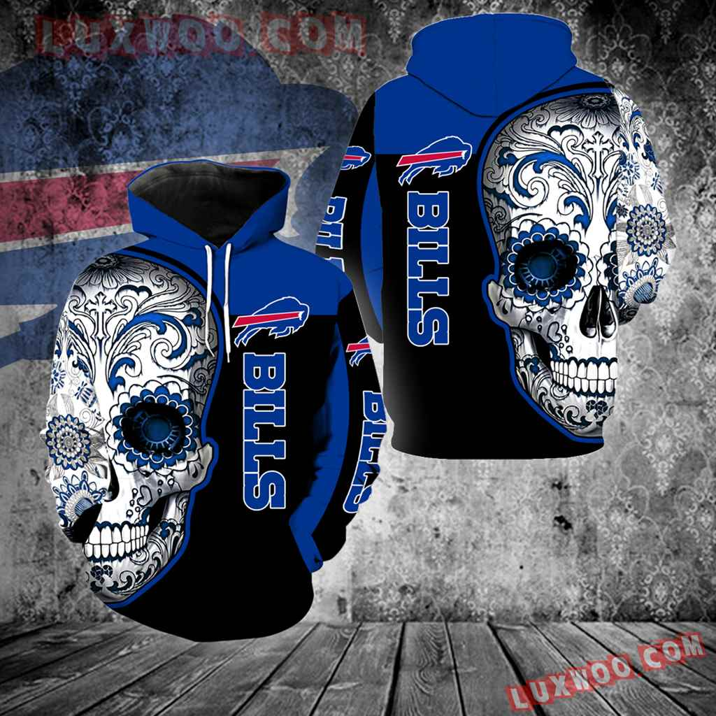 Buffalo Bills Skull Full Over Print K1088