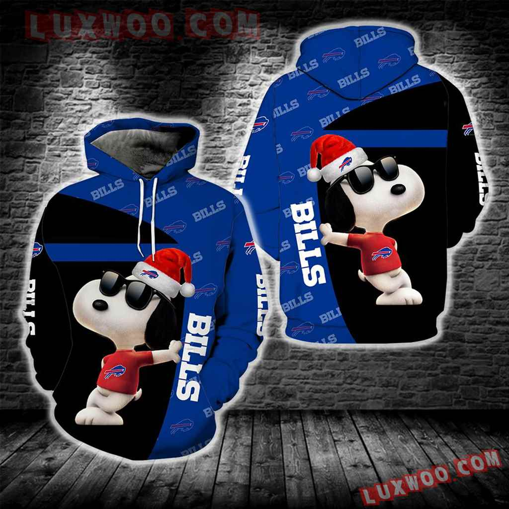 Buffalo Bills Snoopy New Full All Over Print S1672
