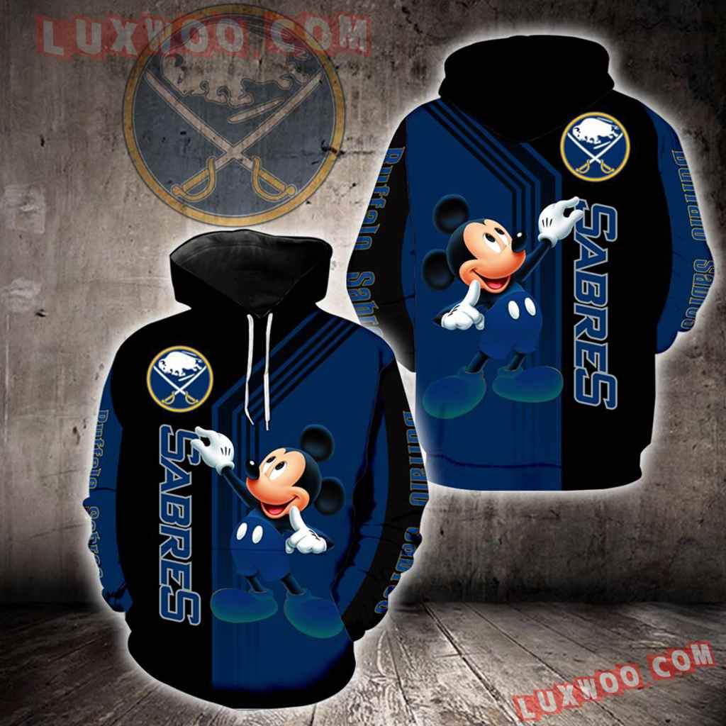 Buffalo Sabres Mickey Mouse New Full All Over Print V1532