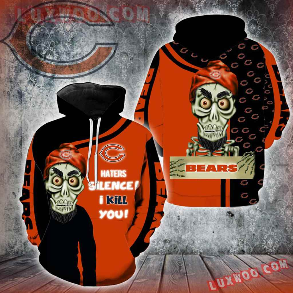 Chicago Bears Achmed Skull Full All Over Print K1197