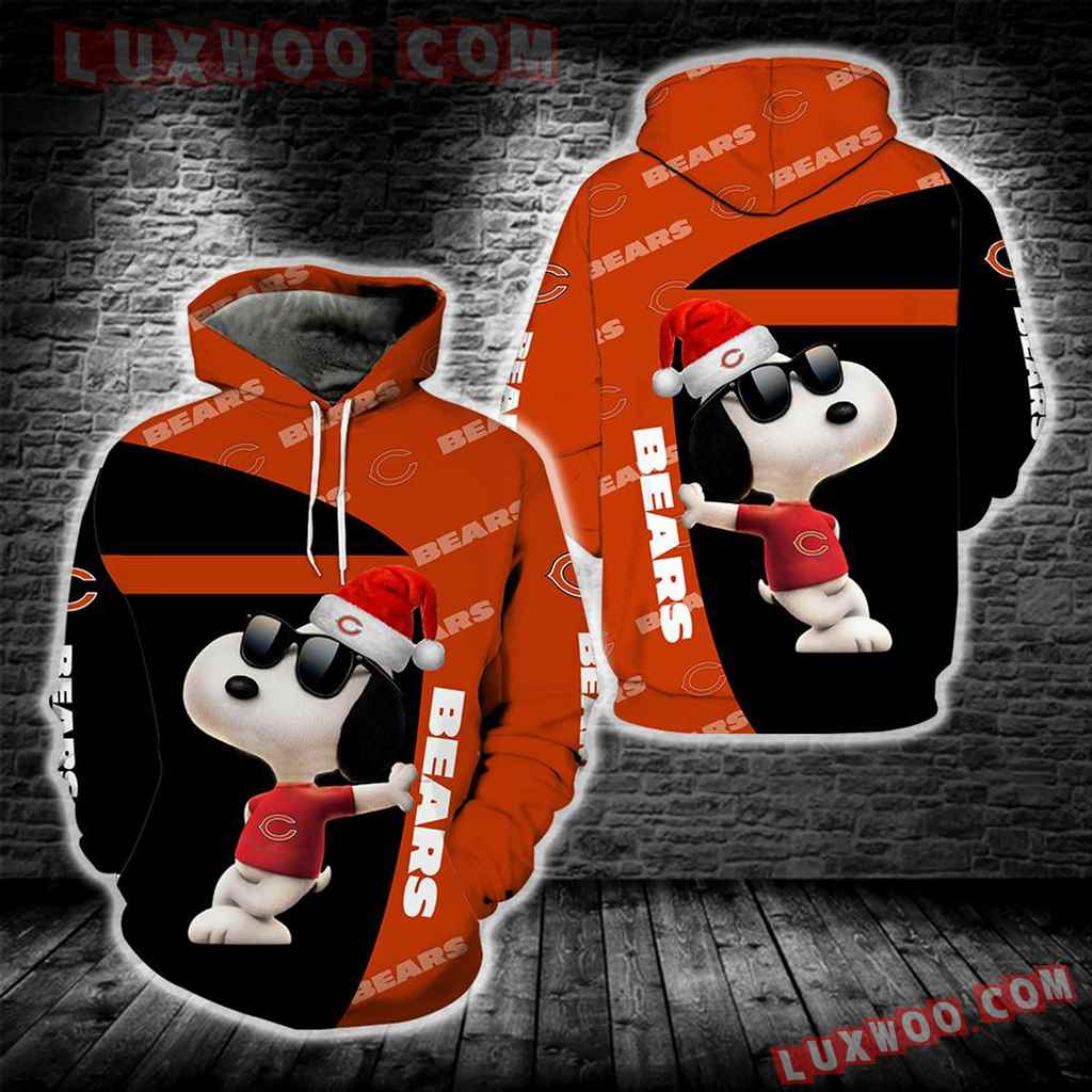 Chicago Bears Snoopy New Full All Over Print S1673