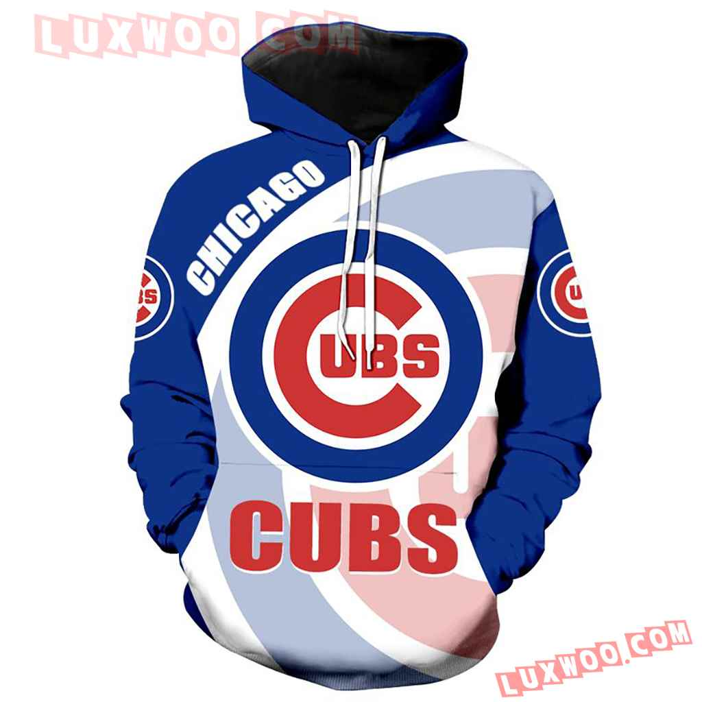 Chicago Cubs 3d Hoodie Full Over Print 1154 1