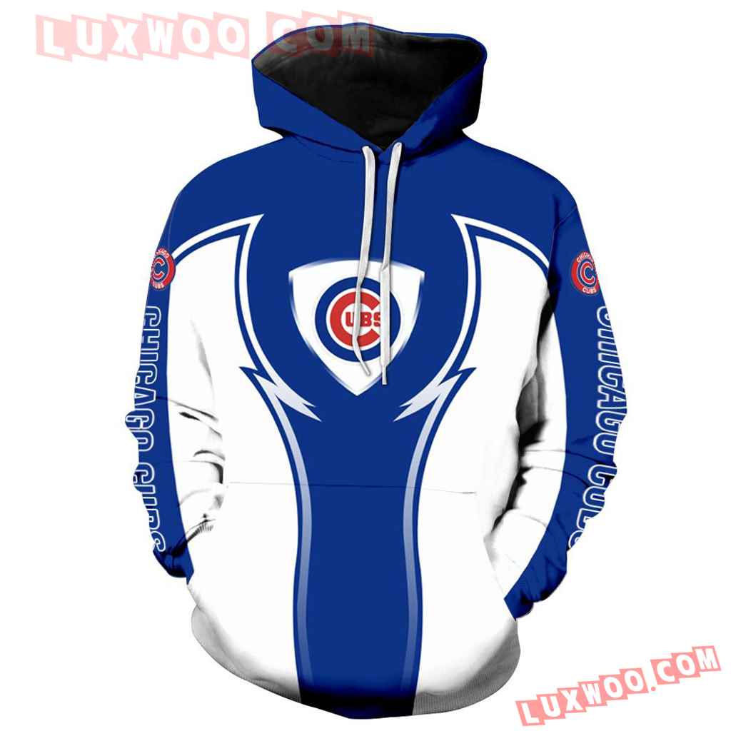 Chicago Cubs 3d Hoodie New All Over Print V1086 1