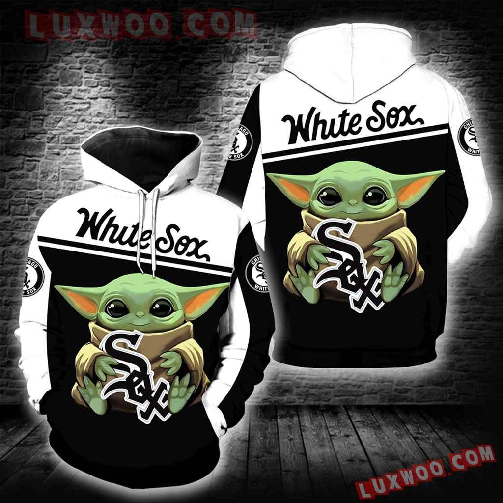 Chicago White Sox Baby Yoda New Full All Over Print K1337
