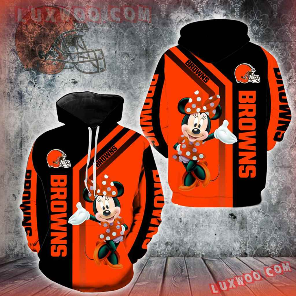 Cleveland Browns Minnie Mouse New Full All Over Print V1467