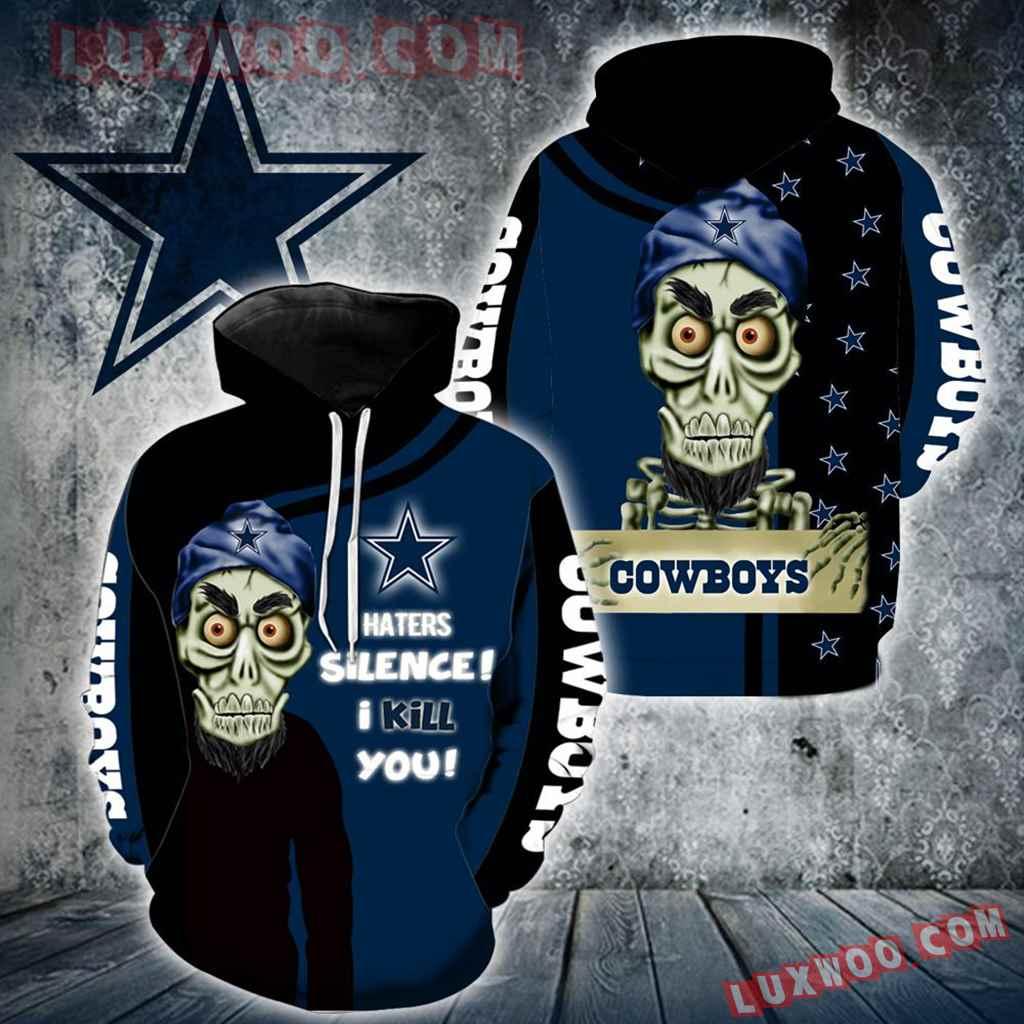 Dallas Cowboys Achmed Skull Full All Over Print K1186