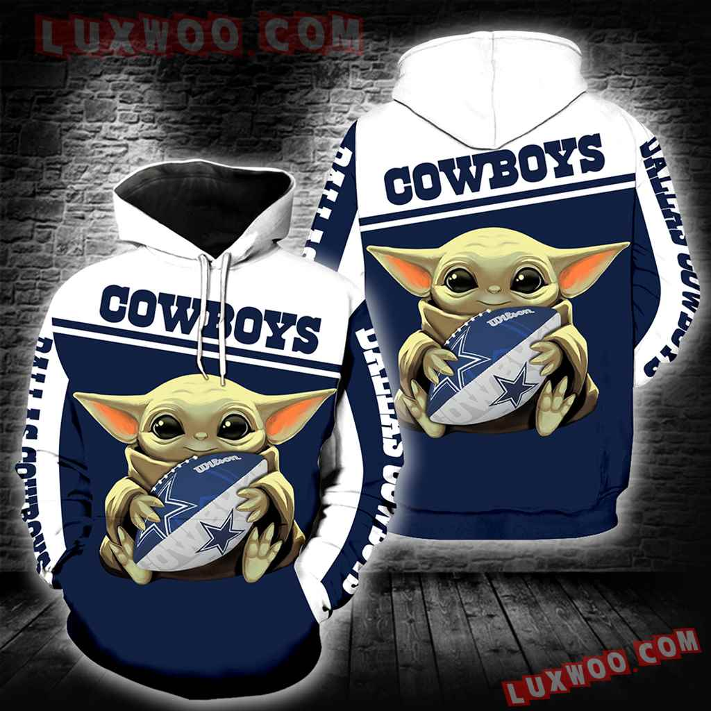 Dallas Cowboys Baby Yoda New Full All Over Print K1258