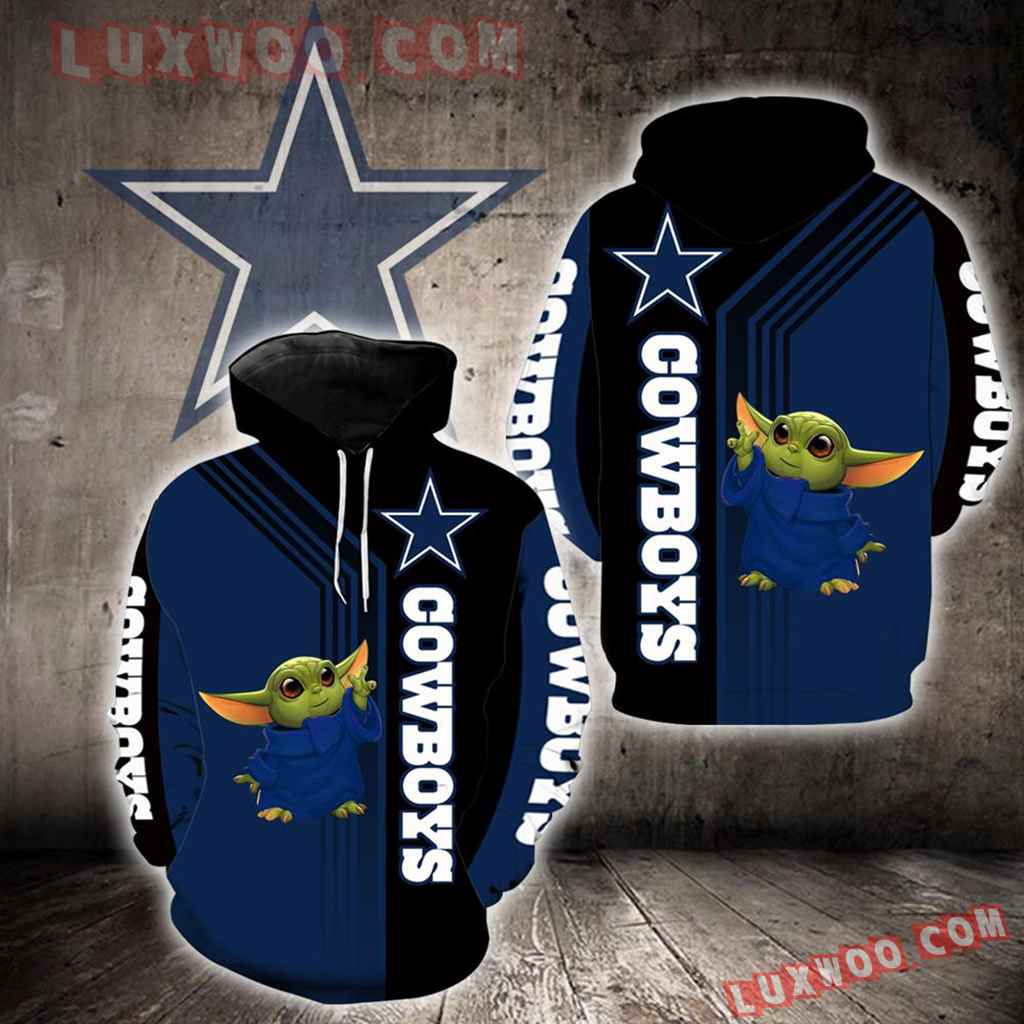 Dallas Cowboys Baby Yoda New Full All Over Print V1483