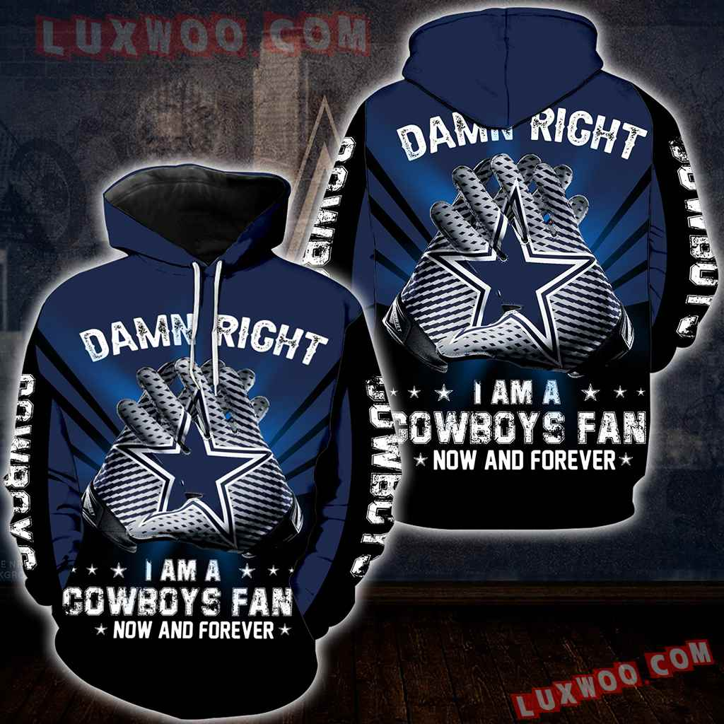 Dallas Cowboys Damn Right New Full All Over Print K2027