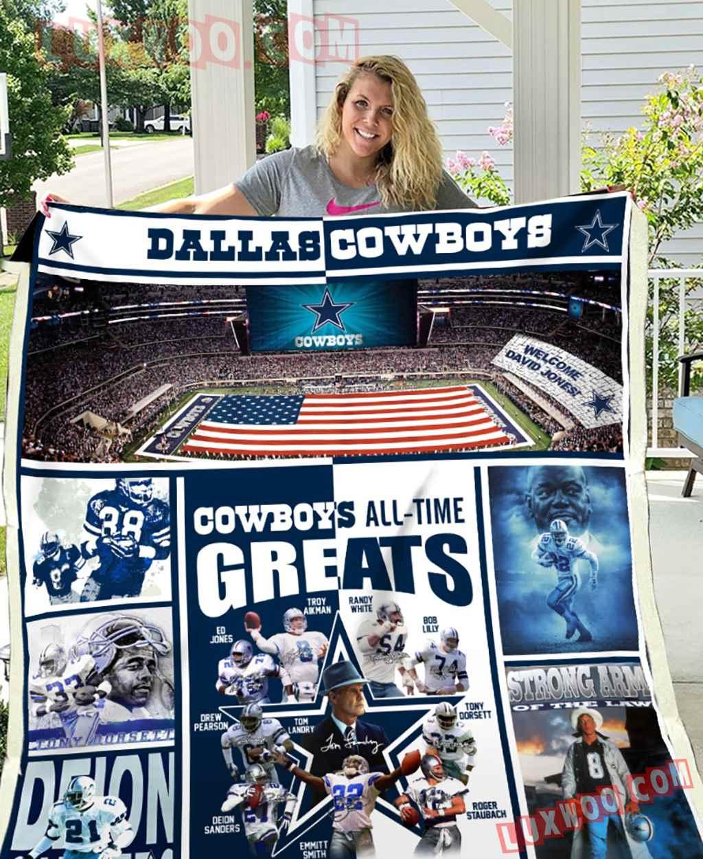 Dallas Cowboys Fleece Blanket K1156