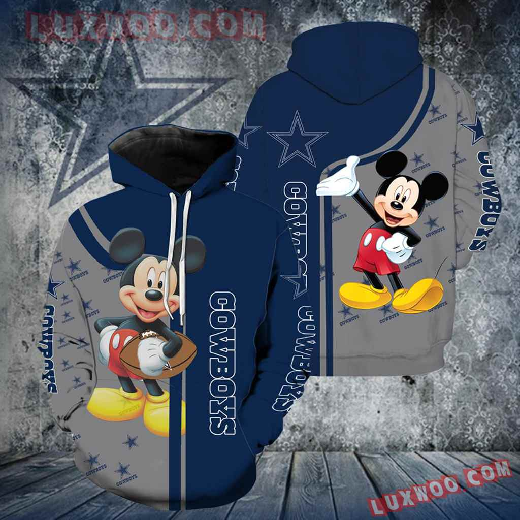 Dallas Cowboys Mickey Mouse All Over Print V1305