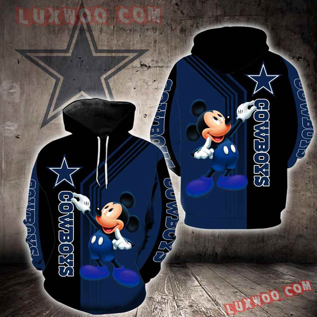 Dallas Cowboys Mickey Mouse New Full All Over Print K1239
