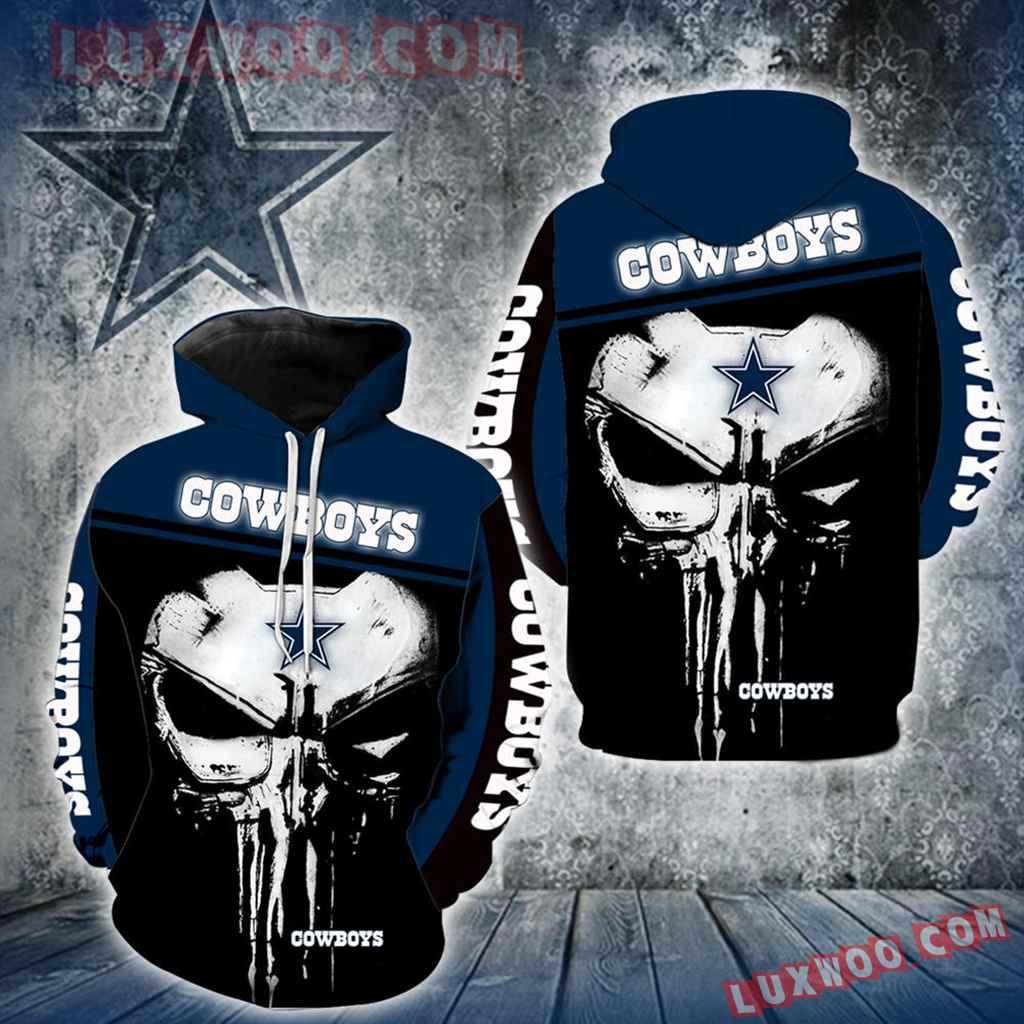 Dallas Cowboys Punisher New Skull Full All Over Print K1222